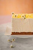 Lemon and speculos ginger biscuit Semifreddo