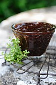 Fig and lemon thyme jam