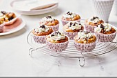 Philadelphia cream cheese and Oreo biscuit muffins