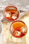 Glasses of Dry Kir