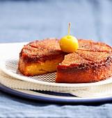 Yellow plum cake