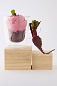 Beetroot cappuccino