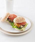 Zwei Cheeseburger