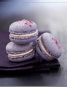 Lavander and white chocolate Macarons