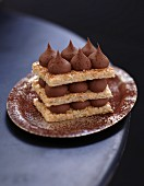 Gianduja chocolate Dacquoise