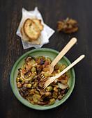 Caponata (süss-saures Gemüsegericht aus Sizilien)