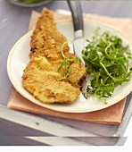 Milan-style veal chop