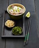 Phô-bô beef soup
