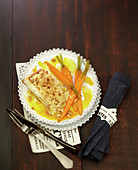 carottes confites au safran