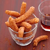 Chili pepper Churros for aperitif