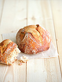 Small round bread loaf