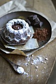 Small all chocolate Kouglof