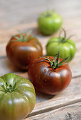 Black Krim tomatoes