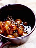 Italian-style sweet and sour grelot onions