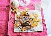 Crispy foie gras delicacies