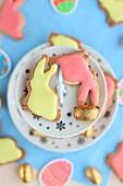 Easter rabbit shortbreads