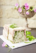 Eel, pike and dill terrine