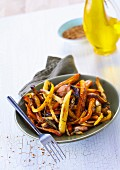 Roasted old-fashioned carrots