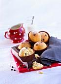 Small chocolate chip cupcakes