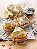 Crisp Normandy appetizers
