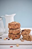 Buckwheat flour and dried fruit scones