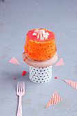 Mini Angel Cake mit Blutorange
