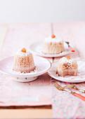 Magic Cake with chestnut
