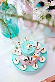 Nougat-style tiered cake bites
