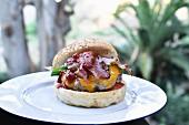 Bacon And Cheddar Hamburger