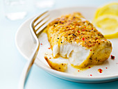 Curried pollock