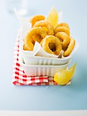 Fried calamary rings