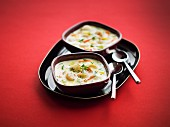 Scallop and vegetable cassolette , Monbazillac sauce