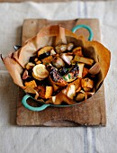 Pan-fried old-fashioned vegetables