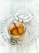 Jar of Christmas Bredele