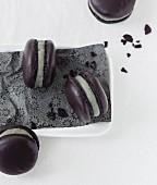 Licorice Macarons