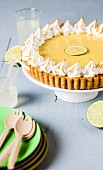 Key Lime Pie (Limettenkuchen mit Baiser, USA)