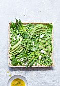 Grüne Gemüsetarte