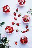Strawberry dessert vegetarian