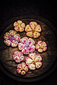 Flower power biscuits