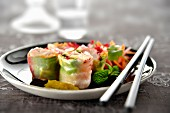 Lobster California rolls
