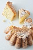 Biscuit de Savoie (Savoyer Biskuitkuchen, Frankreich)