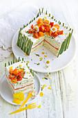 Sandwich-Kuchen zu Ostern