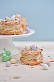 Easter nest-style Paris-Brest