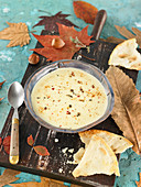 Cream of Camembert soup