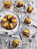 Chocolate-orange Gâteau des rois