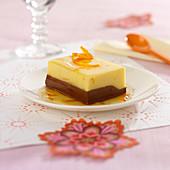Chocolate-orange creamy duo