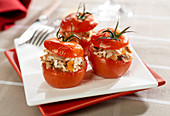Tomatoes stuffed with Blanquette de veau