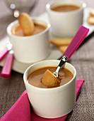 Toffee cream dessert