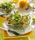 Gemischter Salat auf italienische Art