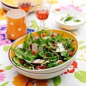 Indian-style lamb salad
